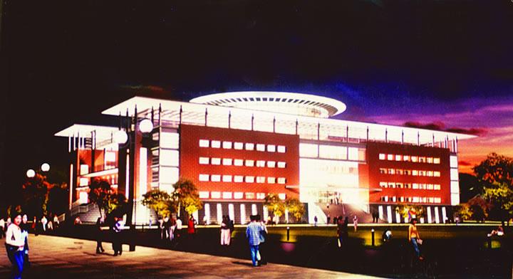 博九线上娱乐博九又一成功案例-安庆师范学院公共教学楼合作项目